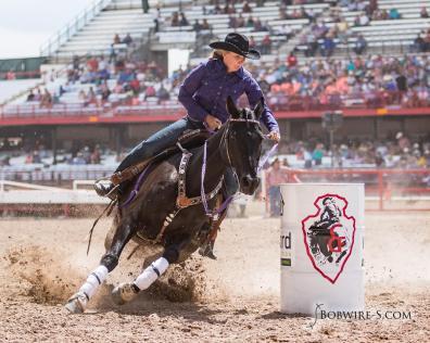 Carla and Hillbilly at Cheyenne